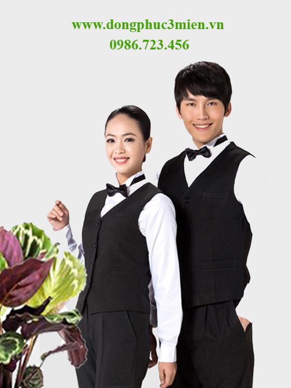 Đồng phục áo gile khách sạn KS001