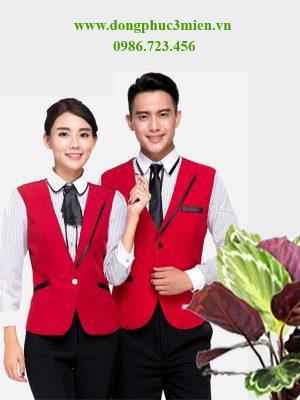 đồng phục áo gile khách sạn KS003