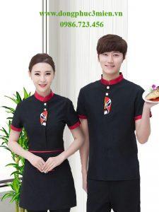 Đồng phục phục vụ khách sạn KS010