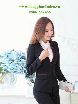 Đồng phục áo vest văn phòng MD014