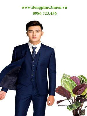 Đồng phục áo vest văn phòng MD018