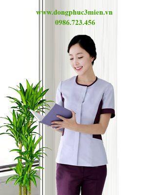 Đồng phục nhân viên Spa nữ SP005
