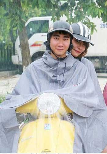 Áo mưa choàng đôi Sơn Thủy