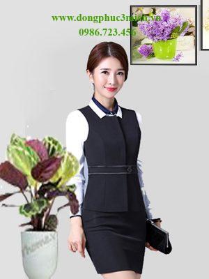 Đồng phục áo vest văn phòng MD020