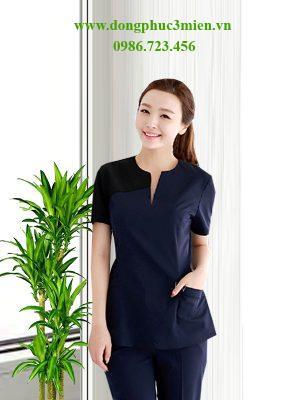 Đồng phục nhân viên Spa nữ SP017
